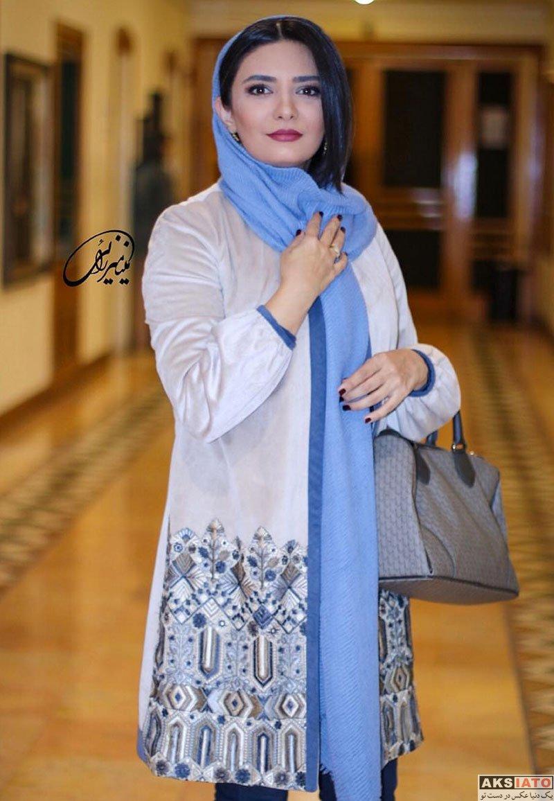 بازیگران بازیگران زن ایرانی  لیندا کیانی در اکران زمستانه فیلم های کوتاه (3 عکس)