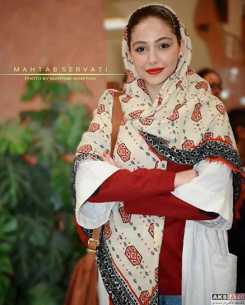 بازیگران بازیگران زن ایرانی  مهتاب ثروتی در اکران مردمی فیلم پاستاریونی (3 عکس)
