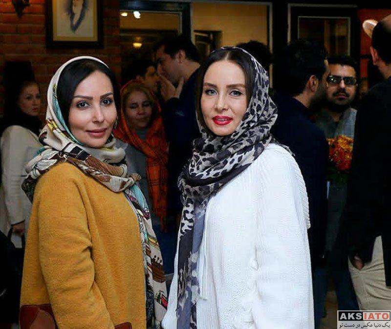 بازیگران بازیگران زن ایرانی  پرستو صالحی در افتتاحیه نمایش برف روی شیروانی داغ (2 عکس)