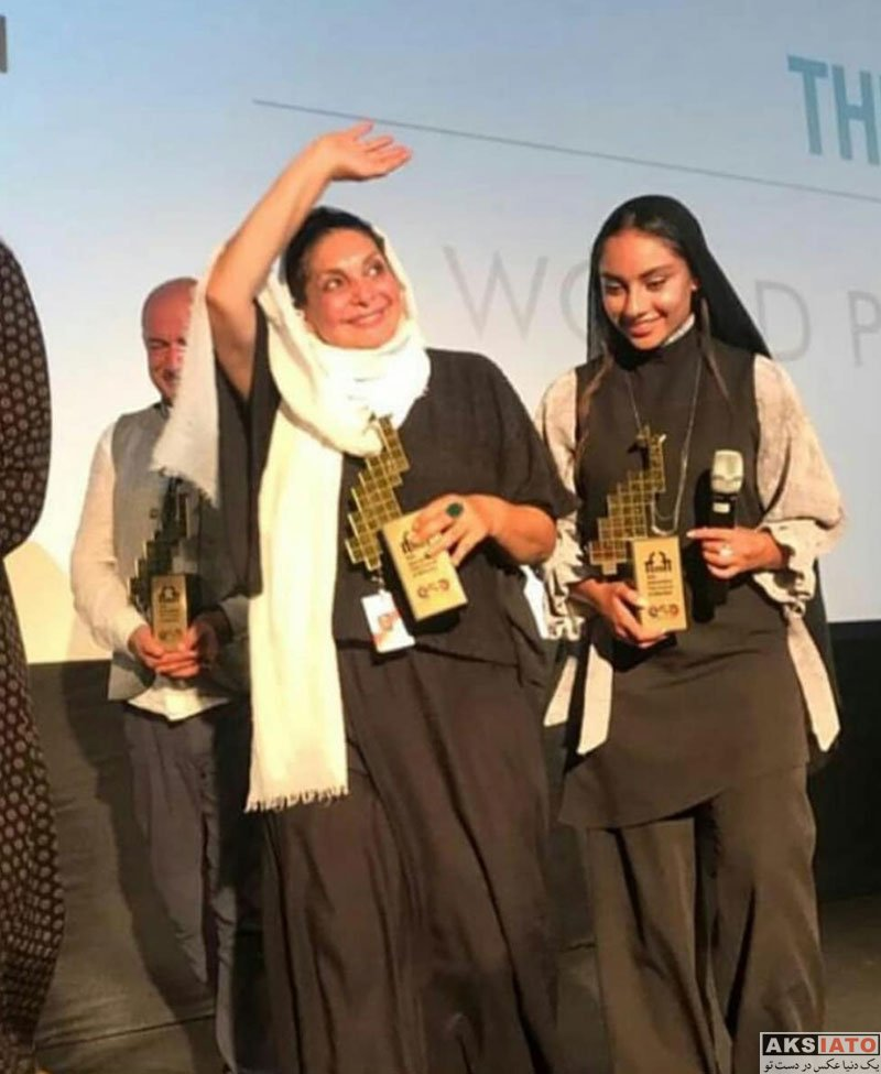 بازیگران بازیگران زن ایرانی  ترلان پروانه در چهل و نهمین جشنواره بین المللی فیلم هند (4 عکس)