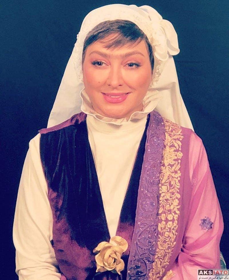 بازیگران بازیگران زن ایرانی  الهام حمیدی با گریم عجیب در سریال خاله سوسکه