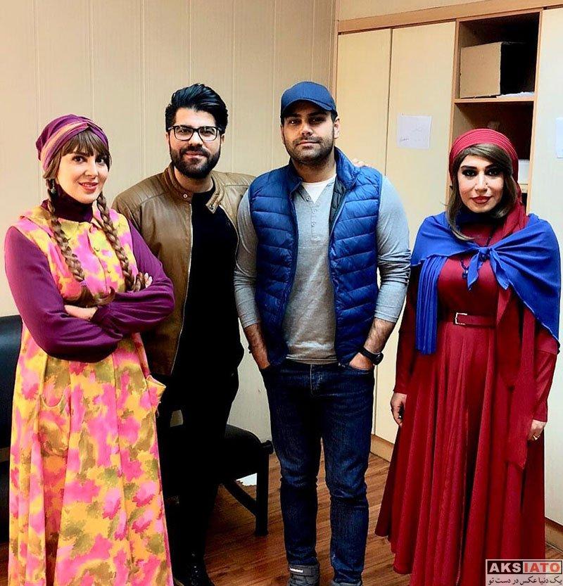 خوانندگان  حامد همایون در اجرای نمایش جدید لیلا بلوکات (2 عکس)
