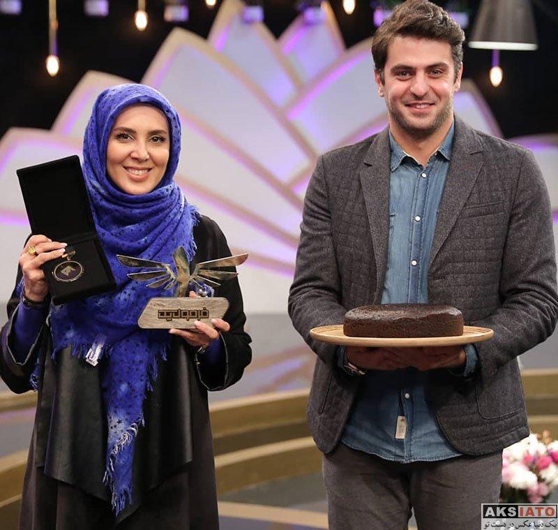 بازیگران بازیگران زن ایرانی  لیلا بلوکات در برنامه فرمول یک علی ضیاء (4 عکس)
