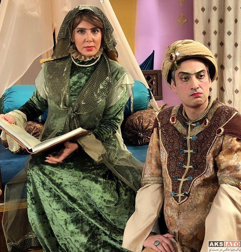 بازیگران بازیگران زن ایرانی  لیلا بلوکات با گریم متفاوت در سریال هشتگ خاله سوسکه (۴ عکس)