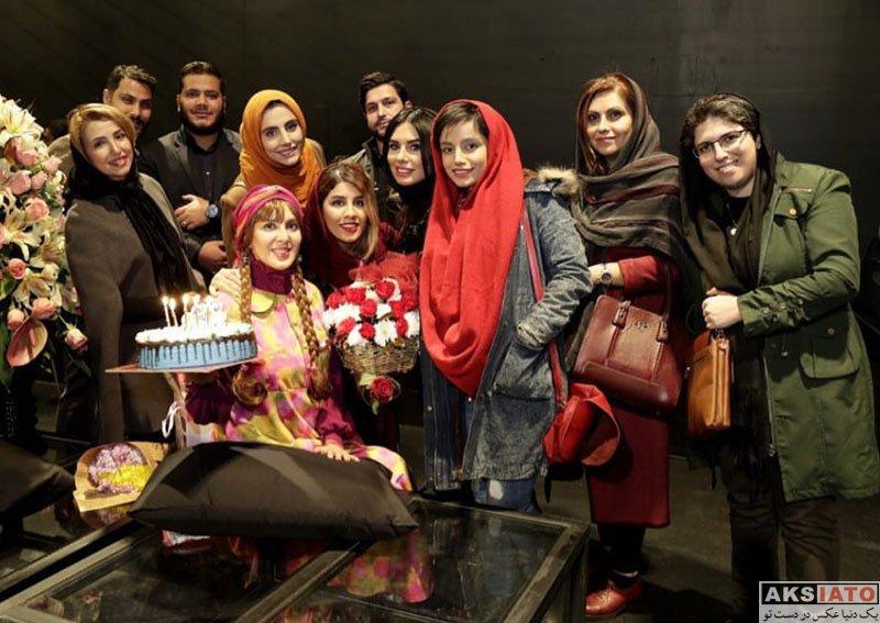 بازیگران بازیگران زن ایرانی جشن تولد ها  جشن تولد 38 سالگی لیلا بلوکات در کنار دوستانش (5 عکس)