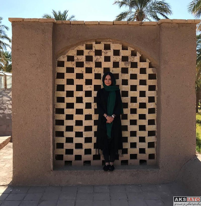 بازیگران بازیگران زن ایرانی  مریم خدارحمی در شهر زیبای بم (4 عکس)