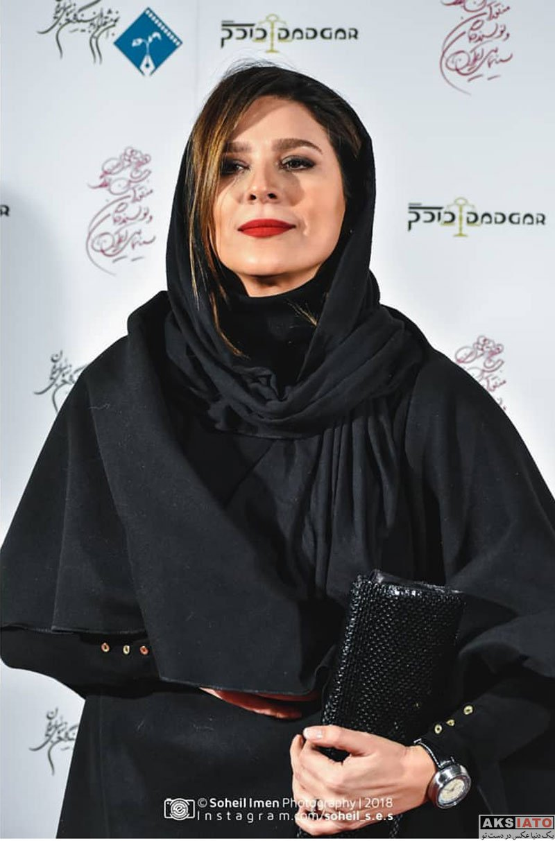 بازیگران بازیگران زن ایرانی  سحر دولتشاهی در دوازدهمین جشن منتقدان و نویسندگان سینما (۴ عکس)