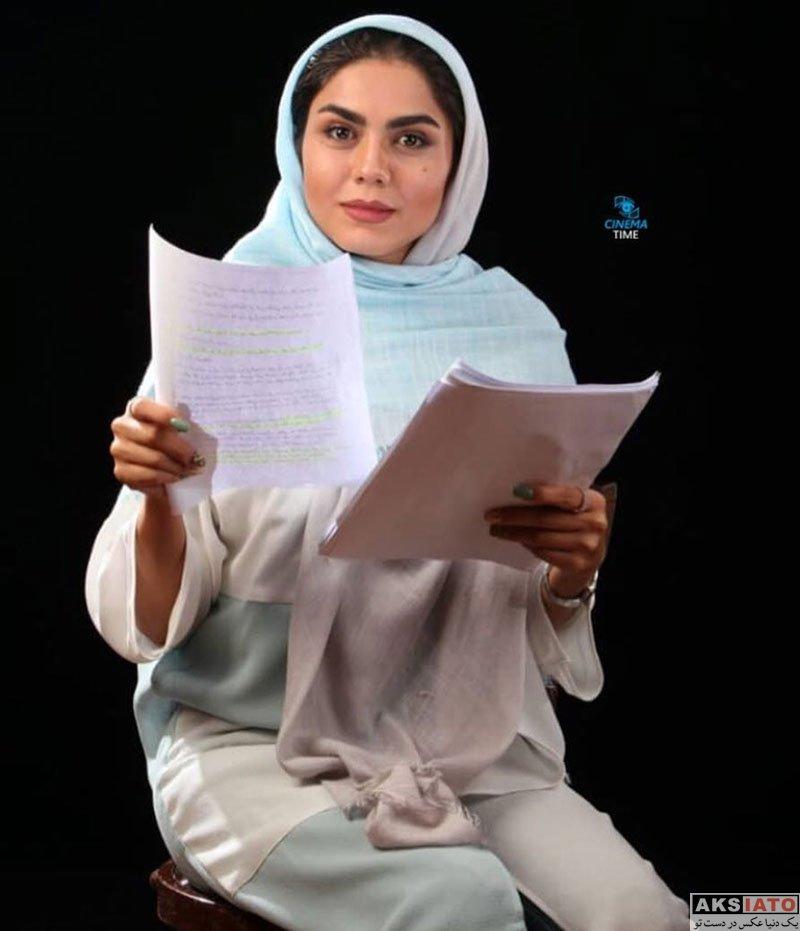 بازیگران بازیگران زن ایرانی  عکس های جدید آزاده زارعی در دی ماه 97 (6 تصویر)