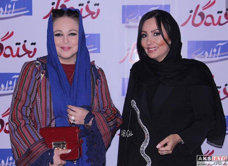 بازیگران بازیگران زن ایرانی  بهنوش بختیاری در اکران مردمی فیلم تخته گاز (6 عکس)