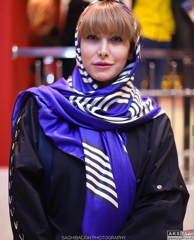 بازیگران بازیگران زن ایرانی  فریبا نادری در اکران خصوصی فیلم کوتاه مثل زندگی (6 عکس)