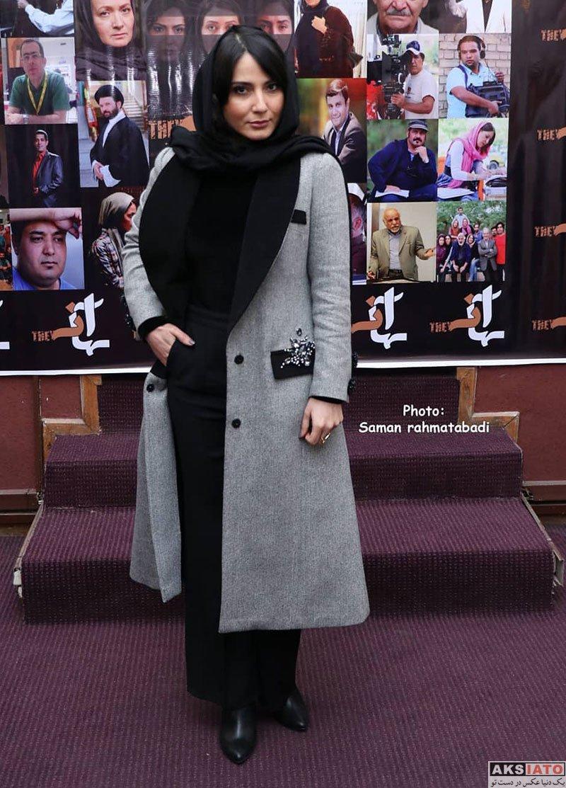 بازیگران بازیگران زن ایرانی  سمیرا حسن پور در اکران خصوصی فیلم آنها (۴ عکس)
