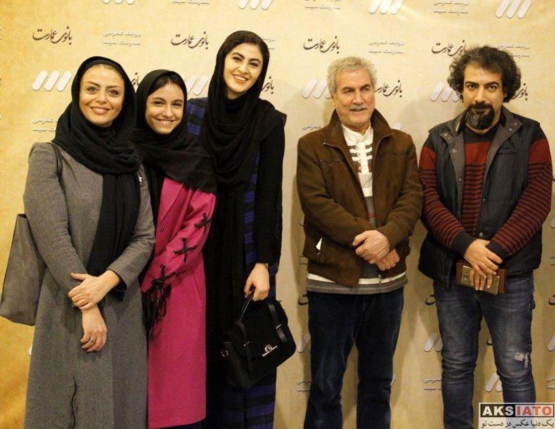 بازیگران بازیگران زن ایرانی  شبنم فرشادجو در نشست خبری سریال بانوی عمارت (6 عکس)