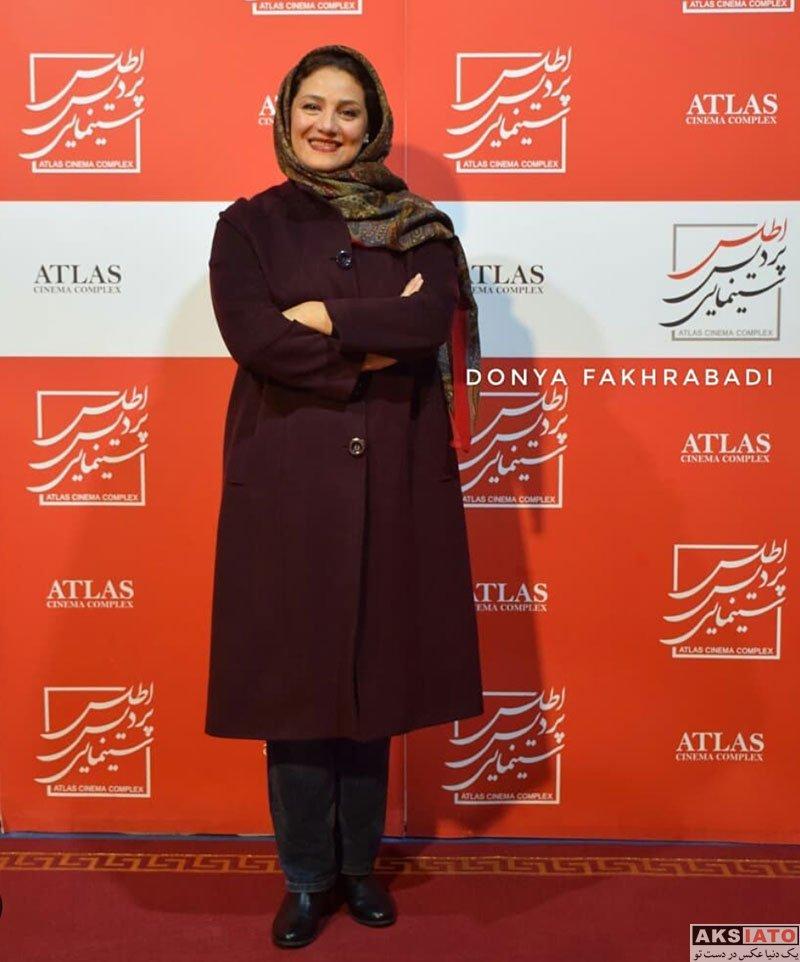 بازیگران بازیگران زن ایرانی  شبنم مقدمی در اکران فیلم کلمبوس در مشهد (4 عکس)