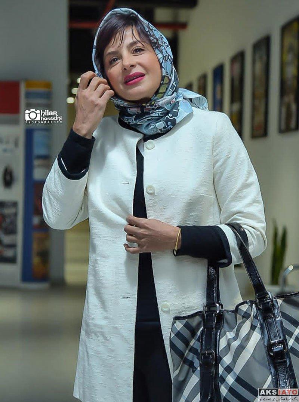 بازیگران بازیگران زن ایرانی  سیما تیرانداز در اکران خصوصی فیلم کوتاه مثل زندگی (4 عکس)