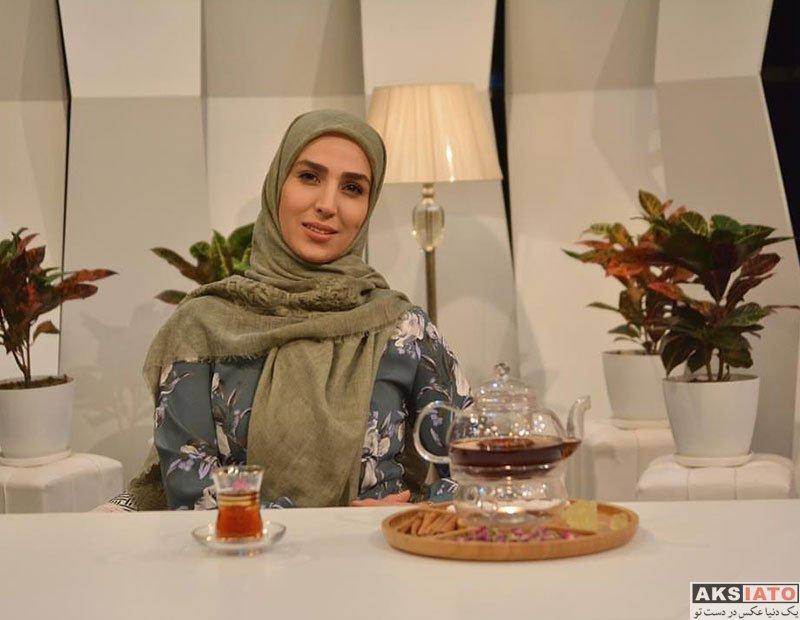 بازیگران بازیگران زن ایرانی  سوگل طهماسبی در برنامه کاملا دخترونه (3 عکس)
