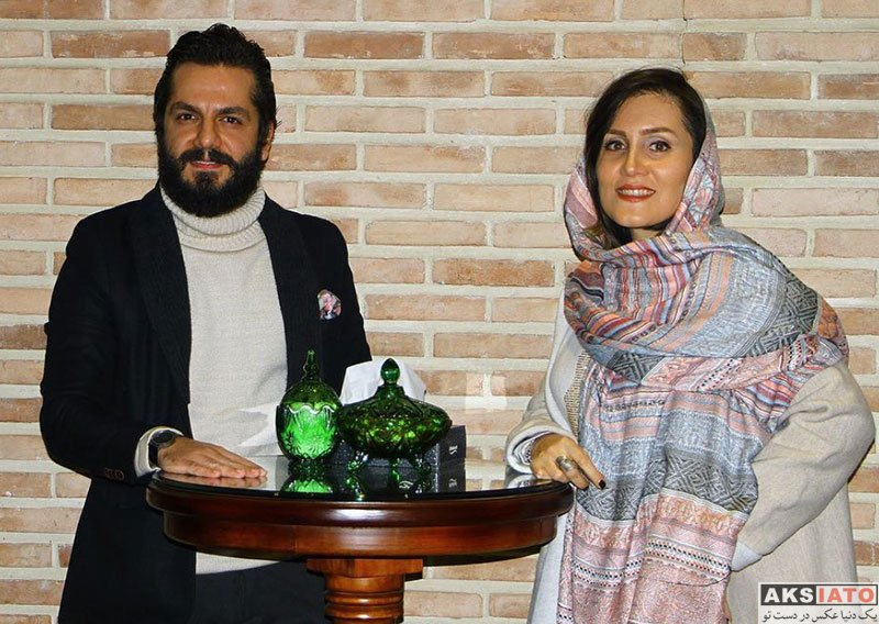 بازیگران بازیگران مرد ایرانی  عباس غزالی در اکران مردمی سریال مینو (2 عکس)