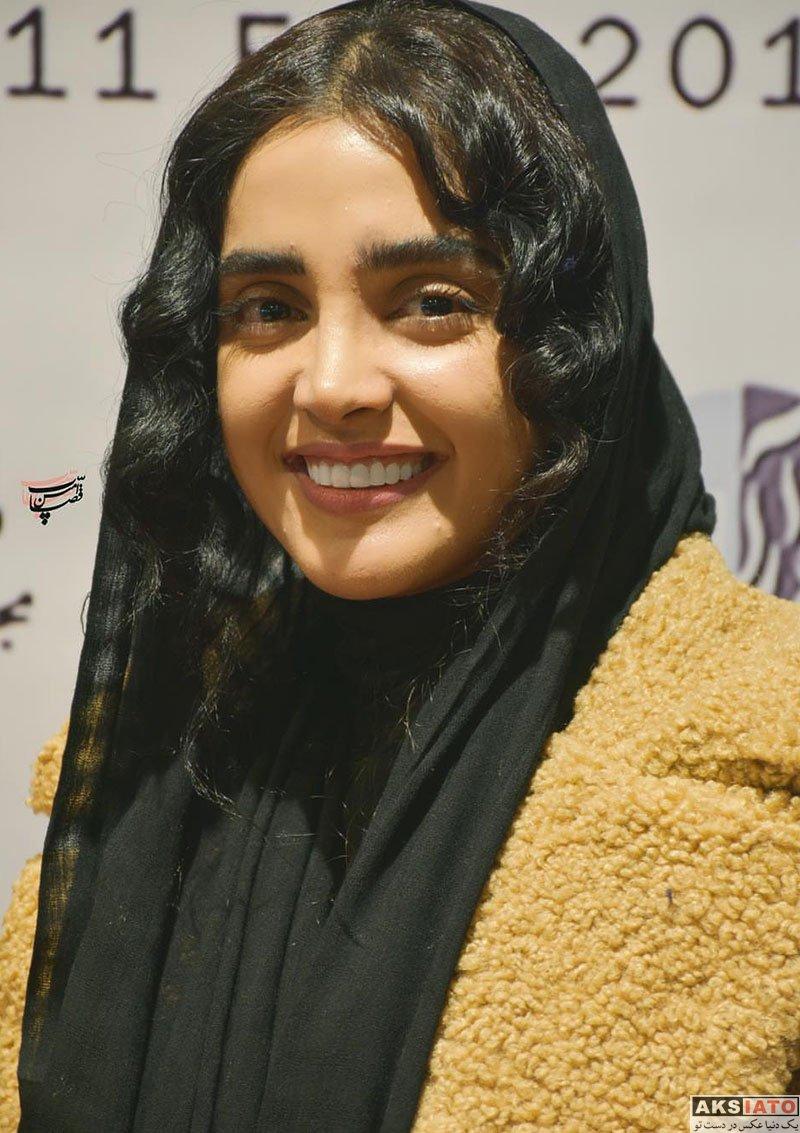 بازیگران بازیگران زن ایرانی  الهه حصاری در اکران مردمی فیلم ترانه در مشهد (6 عکس)