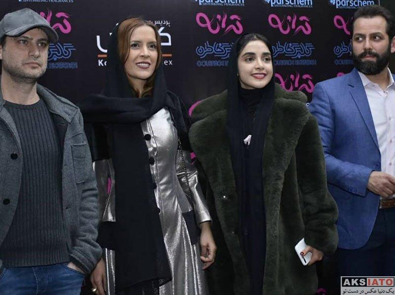 بازیگران بازیگران زن ایرانی  الهه حصاری در اکران مردمی فیلم ترانه (6 عکس)