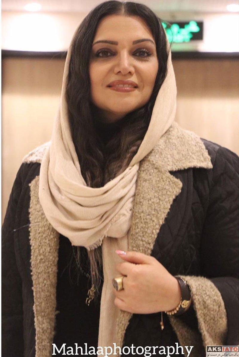 بازیگران بازیگران زن ایرانی  الهام پاوه نژاد در اکران خصوصی فیلم کوتاه مثل زندگی (3 عکس)