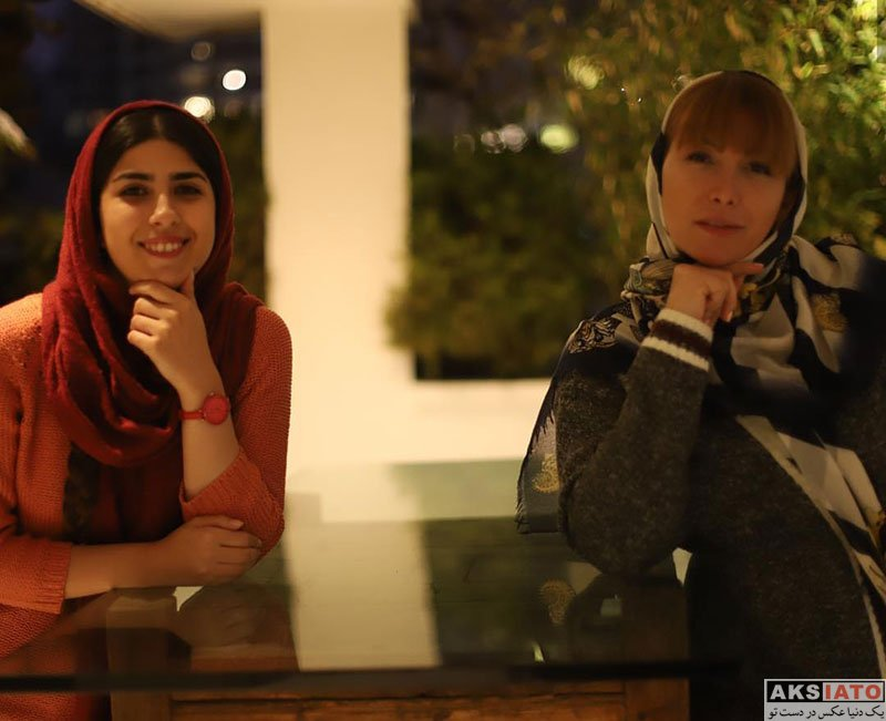 بازیگران بازیگران زن ایرانی  عکس های جدید فریبا نادری در دی ماه 97 (8 تصویر)