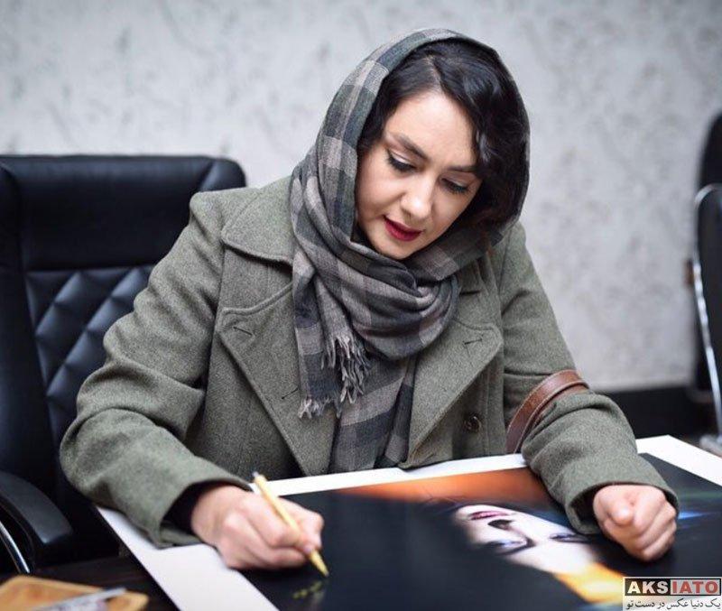 بازیگران بازیگران زن ایرانی  هانیه توسلی و شبنم مقدمی در اکران فیلم کلمبوس (5 عکس)