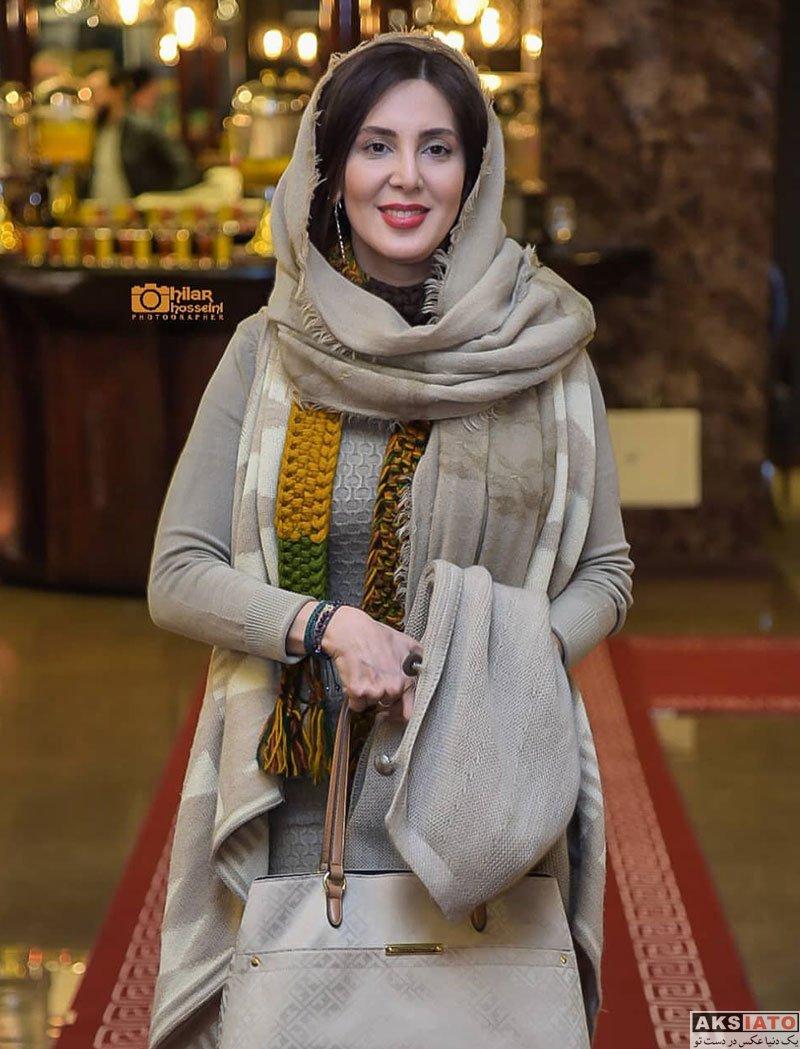 بازیگران بازیگران زن ایرانی  لیلا بلوکات در جشن رونمایی سریال هشتگ خاله سوسکه (۴ عکس)