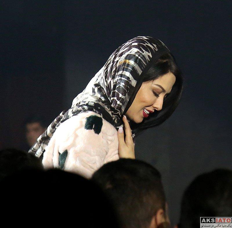 بازیگران بازیگران زن ایرانی  لیلا اوتادی در کنسرت امیرعباس گلاب (۳ عکس)