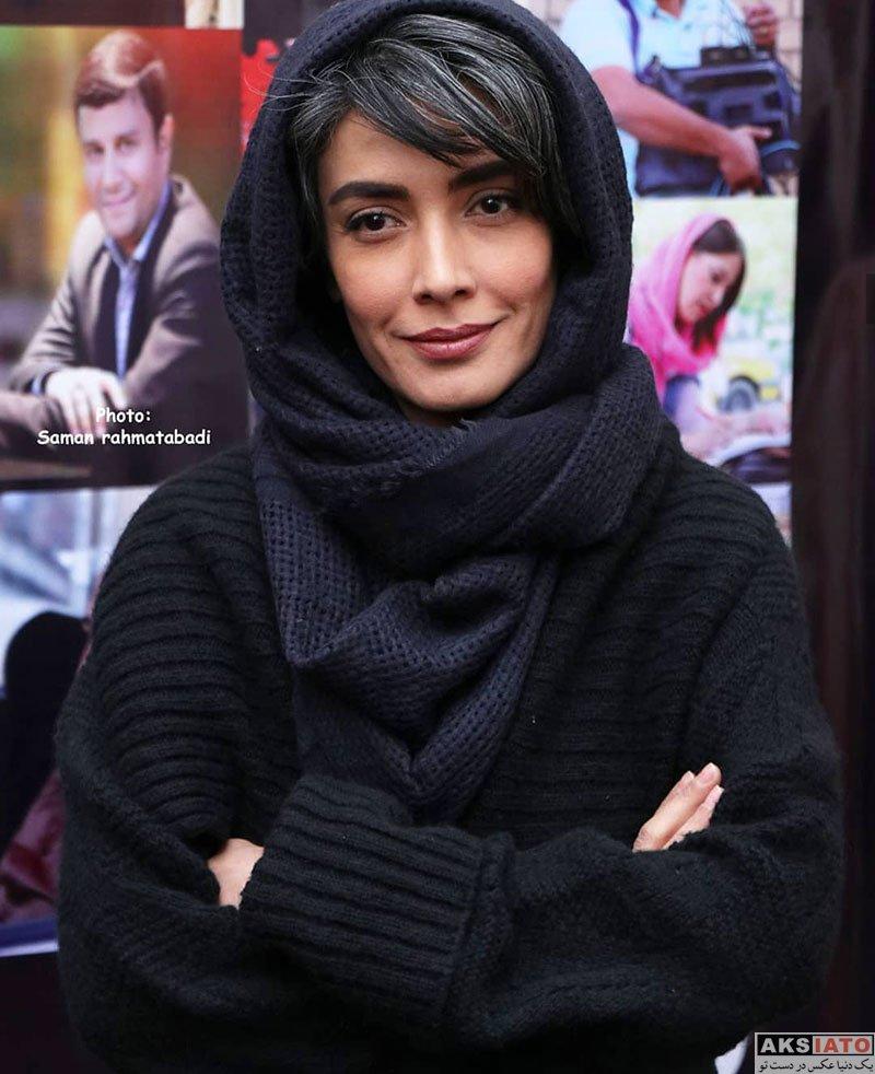 بازیگران بازیگران زن ایرانی  لیلا زارع در اکران خصوصی فیلم آنها (3 عکس)