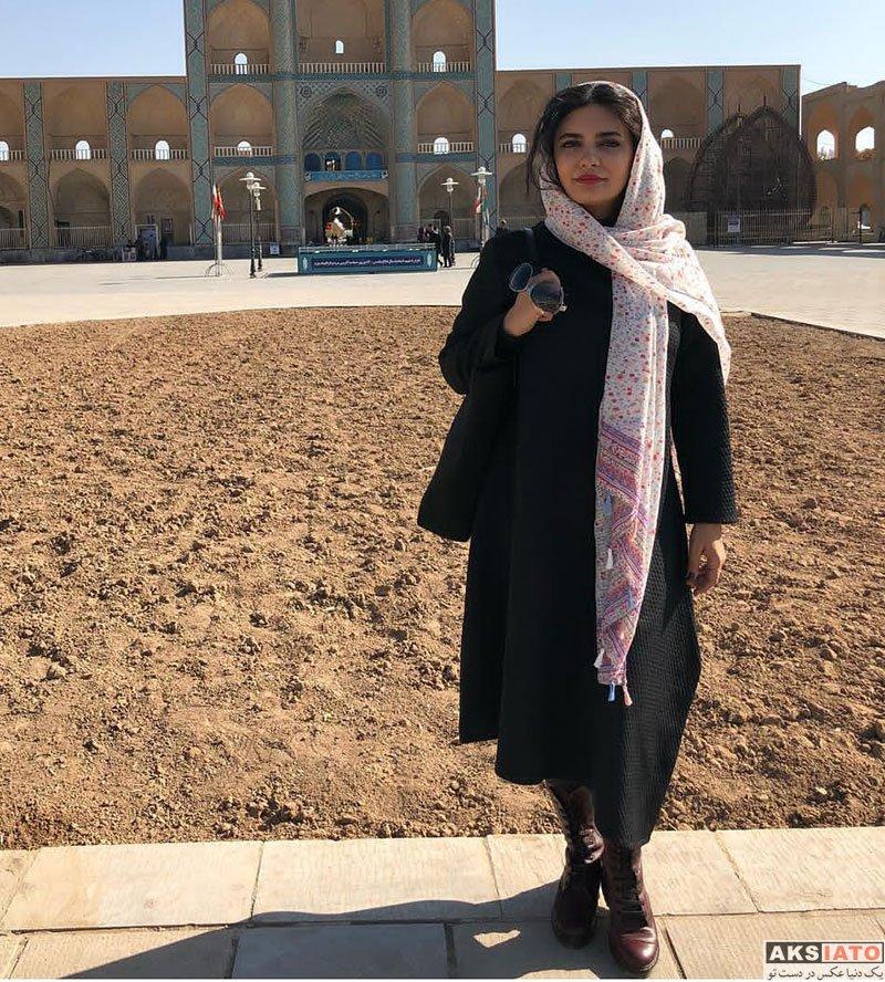 بازیگران بازیگران زن ایرانی  لیندا کیانی در شهر زیبای یزد (3 عکس)