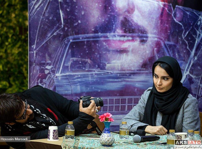 بازیگران بازیگران زن ایرانی  مهدیه نساج در نشست خبری سریال مینو (4 عکس)