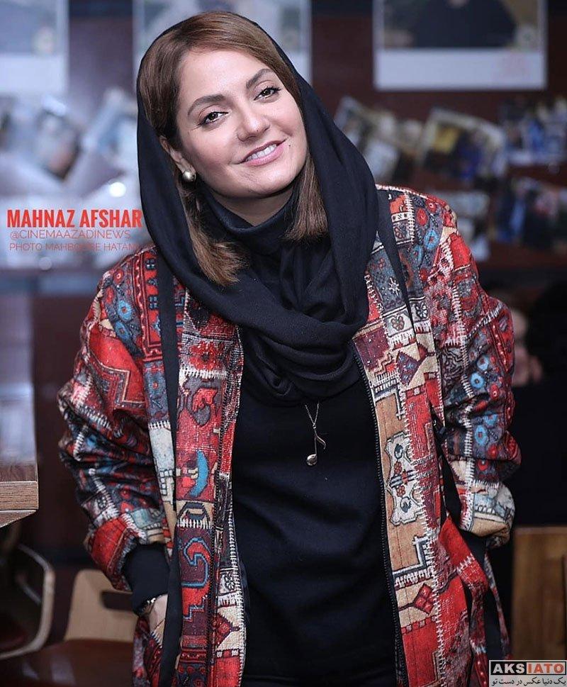 جشنواره فیلم فجر  مهناز افشار در روز اول سی و هفتمین جشنواره فیلم فجر (۶ عکس)