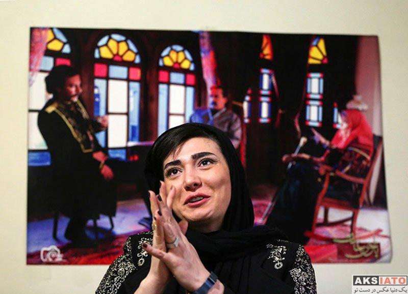 بازیگران بازیگران زن ایرانی  مینا وحید بازیگر سریال بانوی عمارت در خبرگزاری ایلنا (4 عکس)