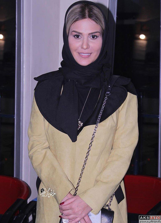 بازیگران بازیگران زن ایرانی  رز رضوی در اولین اکران مردمی فیلم تحته گاز (5 عکس)