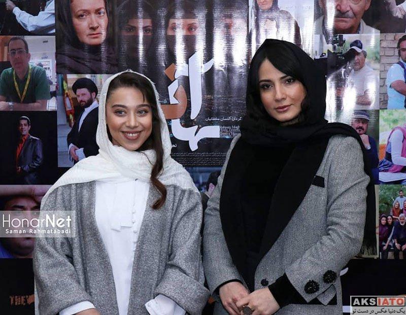 بازیگران بازیگران زن ایرانی  سعیده رودبارکی در اکران خصوصی فیلم آنها (3 عکس)