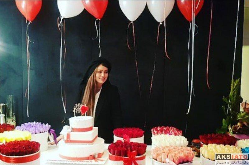بازیگران بازیگران زن ایرانی جشن تولد ها  جشن تولد 31 سالگی سحر قریشی (3 عکس)