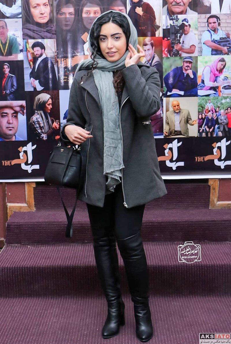 بازیگران بازیگران زن ایرانی  ساناز طاری در اکران خصوصی فیلم آنها (۴ عکس)