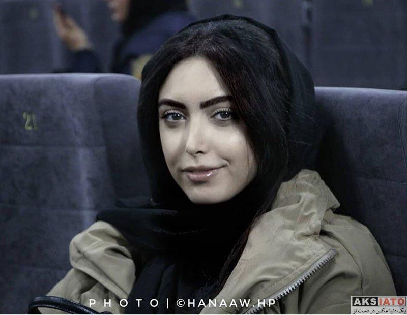 بازیگران بازیگران زن ایرانی  ساناز طاری در اکران مردمی فیلم مارموز (4 عکس)