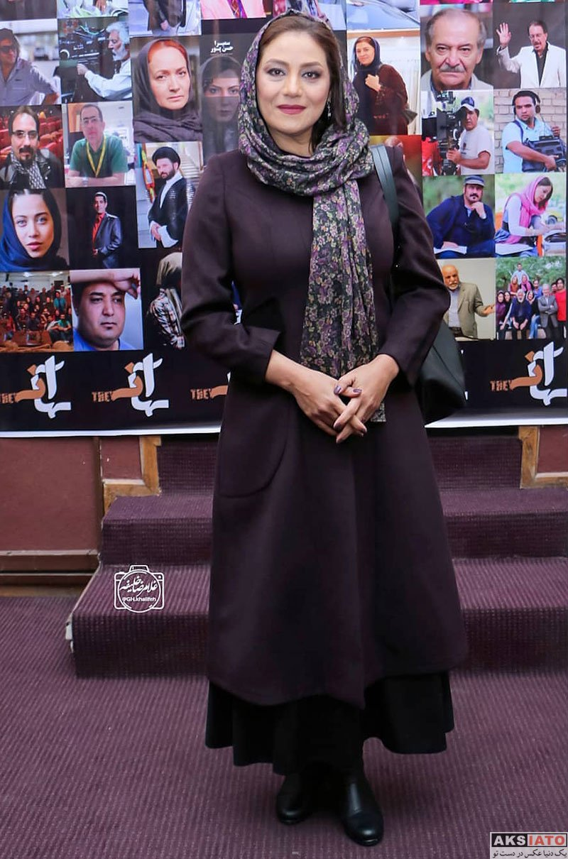 بازیگران بازیگران زن ایرانی  شبنم مقدمی در اکران خصوصی فیلم آنها (4 عکس)