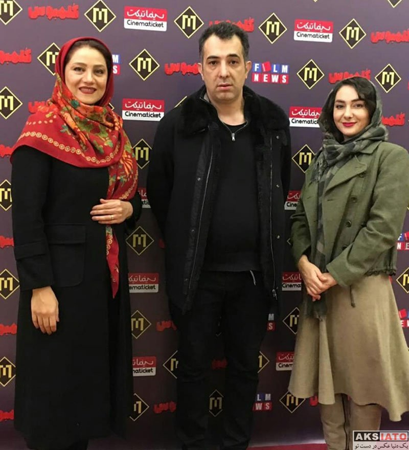بازیگران بازیگران زن ایرانی  شبنم مقدمی و هانیه توسلی در اکران مردمی فیلم کلمبوس (4 عکس)