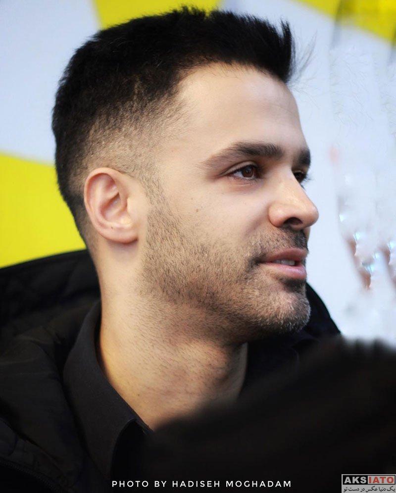 خوانندگان  سیروان خسروی در مراسم رونمایی سریال نهنگ آبی (3 عکس)