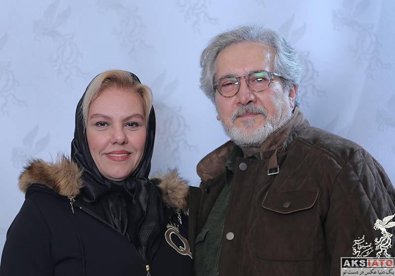 جشنواره فیلم فجر  افسانه چهره آزاد و همسرش در سی و هفتمین جشنواره فیلم فجر (3 عکس)