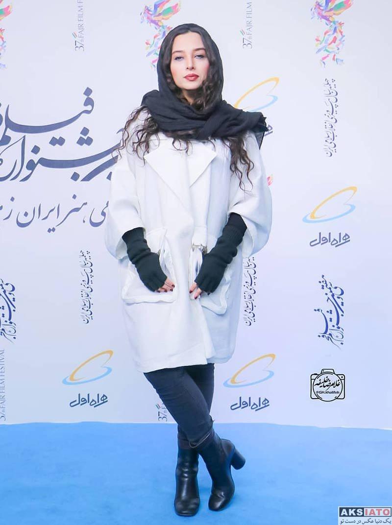 جشنواره فیلم فجر  آناهیتا درگاهی در روز نهم در سی و هفتمین جشنواره فیلم فجر (2 عکس)
