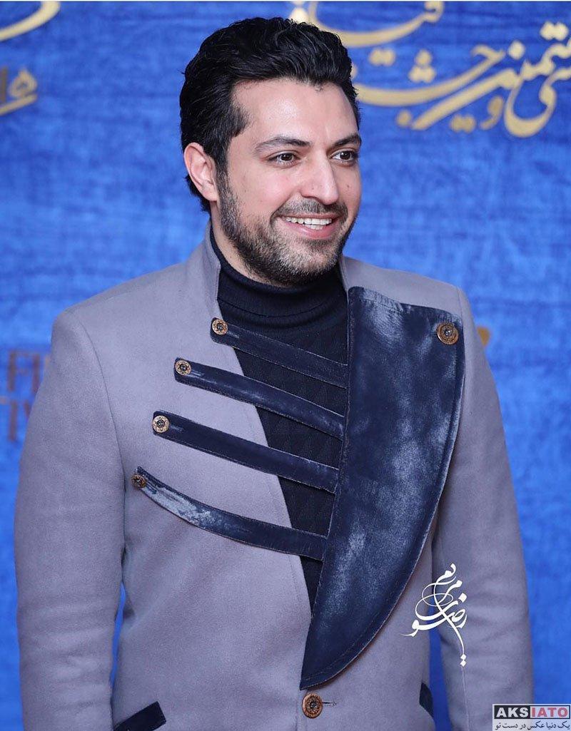 جشنواره فیلم فجر  اشکان خطیبی در روز دوم سی و هفتمین جشنواره فیلم فجر (3 عکس)