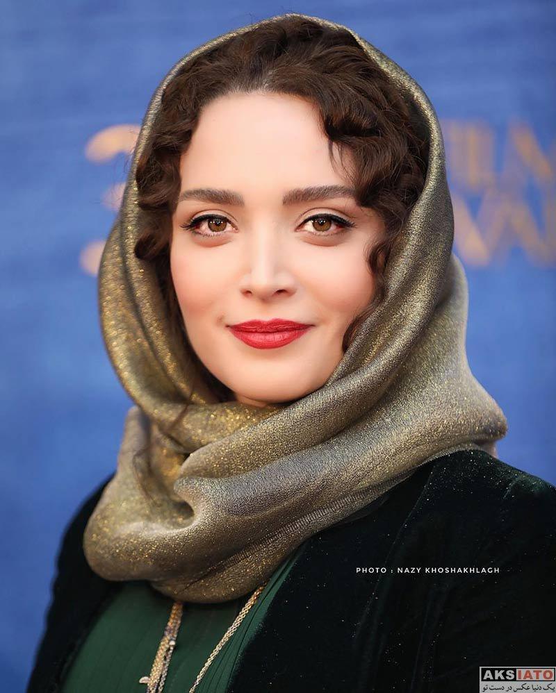 جشنواره فیلم فجر  بهنوش طباطبایی در روز دهم سی و هفتمین جشنواره فیلم فجر (6 عکس)