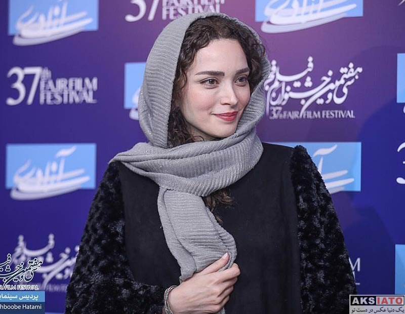 جشنواره فیلم فجر  بهنوش طباطبایی در روز سوم سی و هفتمین جشنواره فیلم فجر (6 عکس)