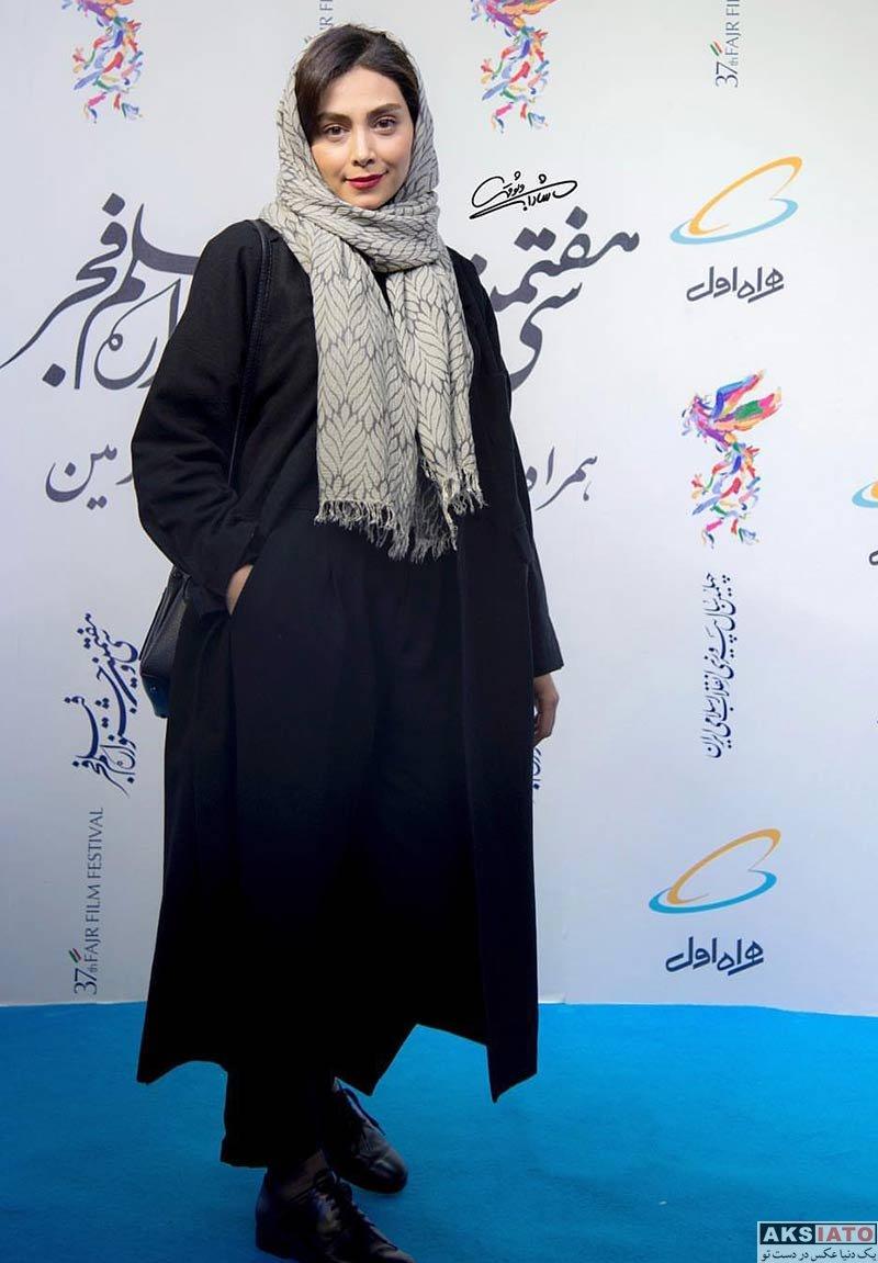 جشنواره فیلم فجر  دیبا زاهدی در روز دهم در سی و هفتمین جشنواره فیلم فجر (3 عکس)