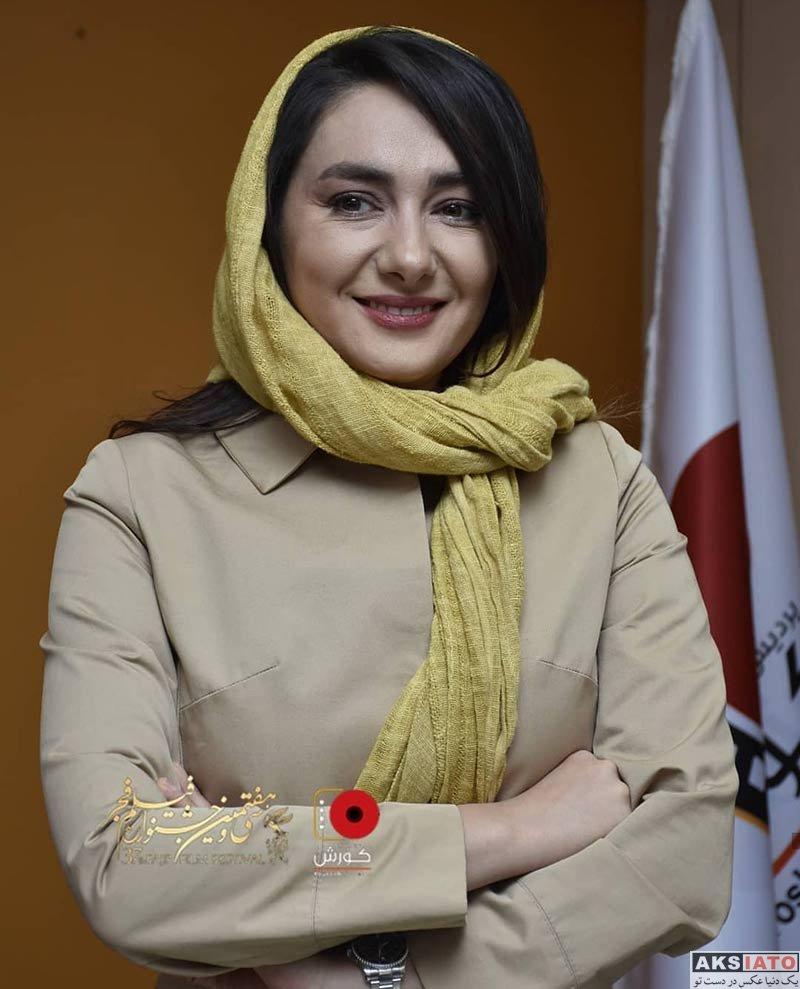 جشنواره فیلم فجر  هانیه توسلی در روز پنجم سی و هفتمین جشنواره فیلم فجر (۶ عکس)