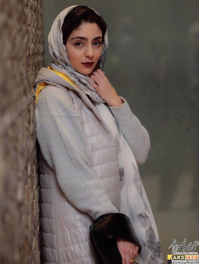 جشنواره فیلم فجر  هستی مهدوی در روز ششم سی و هفتمین جشنواره فیلم فجر (۴ عکس)