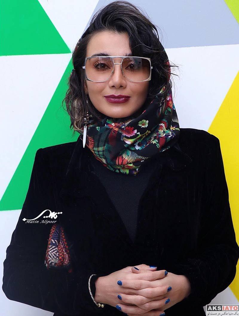 بازیگران بازیگران زن ایرانی  خاطره حاتمی در اکران مردمی فیلم پارادایس (۴ عکس)