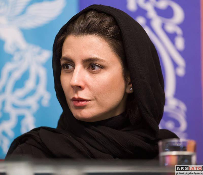 جشنواره فیلم فجر  لیلا حاتمی در روز ششم سی و هفتمین جشنواره فیلم فجر (6 عکس)